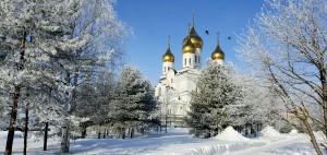 Russische winter als reisbestemming