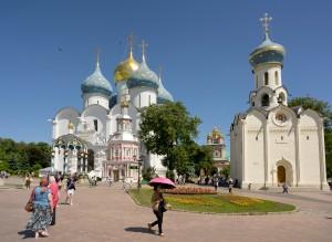 Russisch Orthodoxe Kerk Gouden Ring